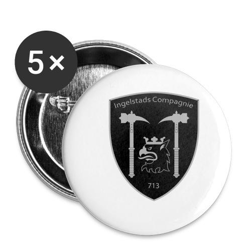 Kompanim rke 713 m nummer gray ai - Små knappar 25 mm (5-pack)