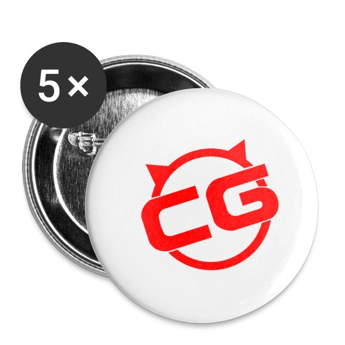 ChloeGames Hoodie - Buttons small 1''/25 mm (5-pack)