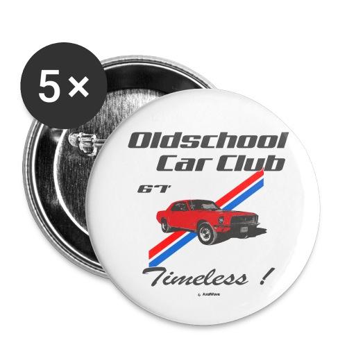 Mustang 67 - Lot de 5 petits badges (25 mm)