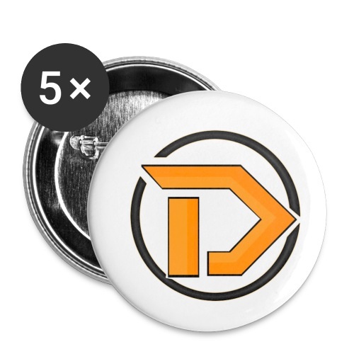New Logo - Buttons small 1''/25 mm (5-pack)
