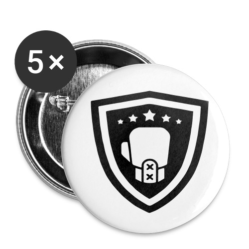 mitch gym schild - Buttons klein 25 mm (5-pack)