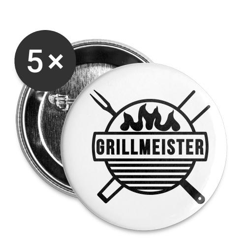 Grillmeister - Buttons klein 25 mm (5er Pack)