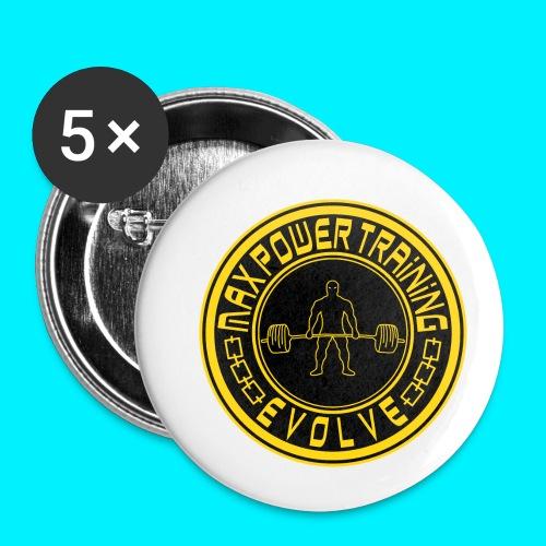 logo_original.png - Confezione da 5 spille piccole (25 mm)