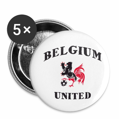 Belgium Unit - Buttons small 1''/25 mm (5-pack)