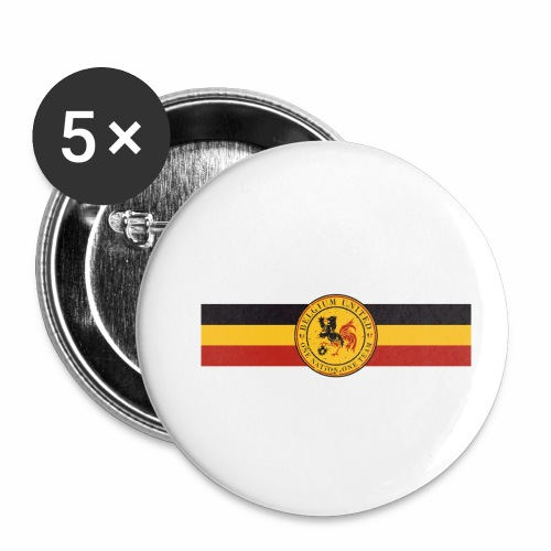 belgique 2016 - Buttons small 1''/25 mm (5-pack)