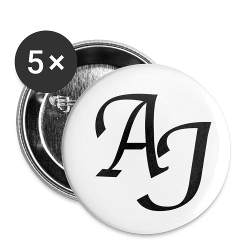 AJ Mouse Mat - Buttons small 1''/25 mm (5-pack)