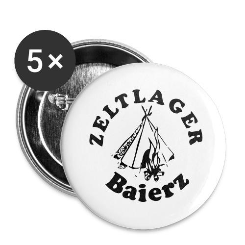 Logo_Baierz - Buttons klein 25 mm (5er Pack)