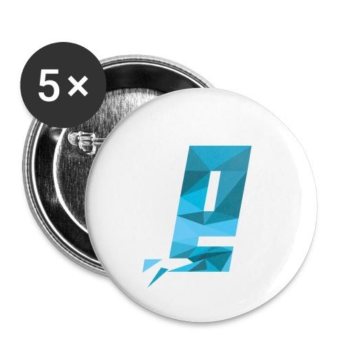 Eventuell Logo small - Shirt White - Buttons klein 25 mm (5er Pack)