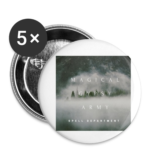 MAGICAL GYPSY ARMY SPELL - Buttons klein 25 mm (5er Pack)