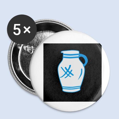Mein Frankfurt Bembeltown - Buttons klein 25 mm (5er Pack)
