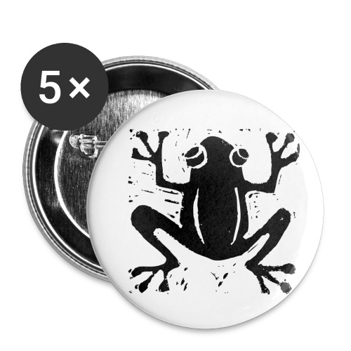 Crafty Wotnots Tree Frog - Buttons small 1''/25 mm (5-pack)