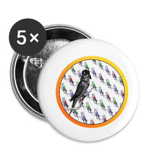 Star Birds - Rintamerkit pienet 25 mm (5kpl pakkauksessa)