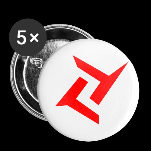 New logo 2 png - Buttons klein 25 mm (5-pack)