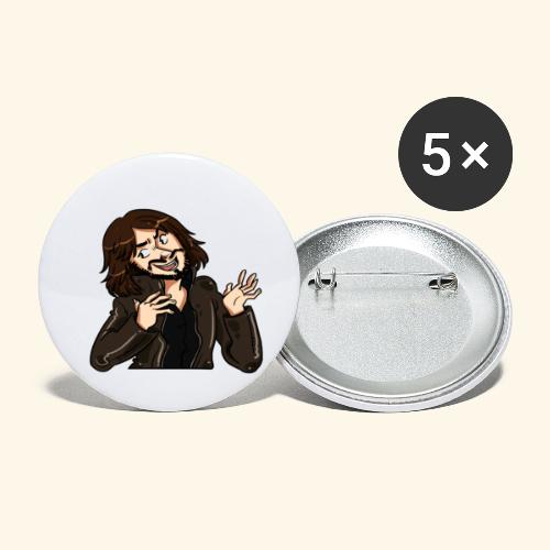 LEATHERJACKETGUY - Buttons small 1''/25 mm (5-pack)