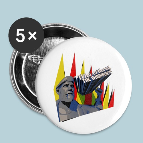 RATWORKS Whopper - Buttons small 1''/25 mm (5-pack)