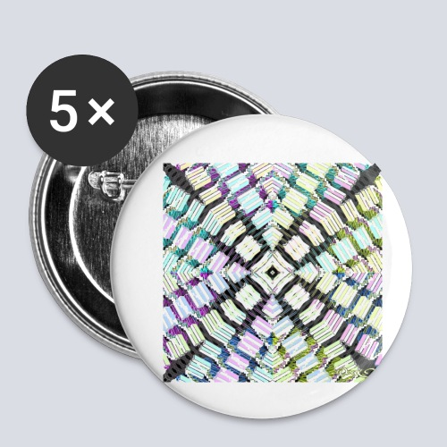 aBSTRAWIATURA 2 - Buttons small 1''/25 mm (5-pack)