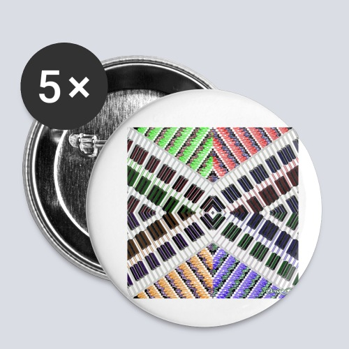 aBSTRAWIATURA bluza - Buttons small 1''/25 mm (5-pack)