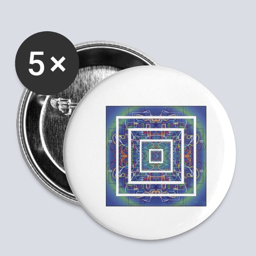 tHOUGHT - Buttons small 1''/25 mm (5-pack)