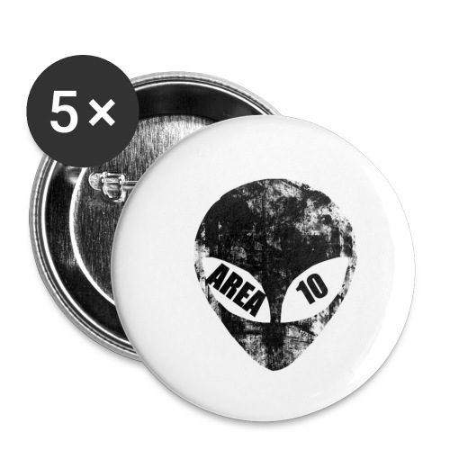 area 10 plain logo male polo top - Buttons small 1''/25 mm (5-pack)