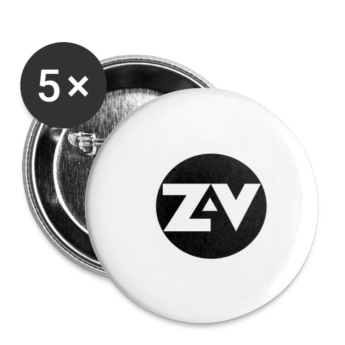 Zvooka Records Logo - Buttons small 1''/25 mm (5-pack)