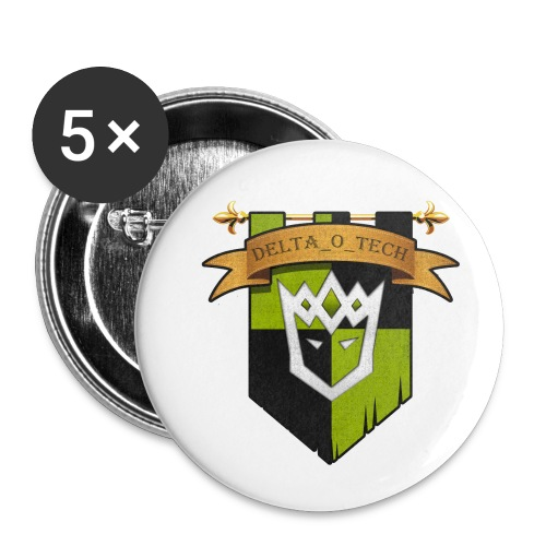 Delta_o_Tech-Banner - Buttons small 1''/25 mm (5-pack)