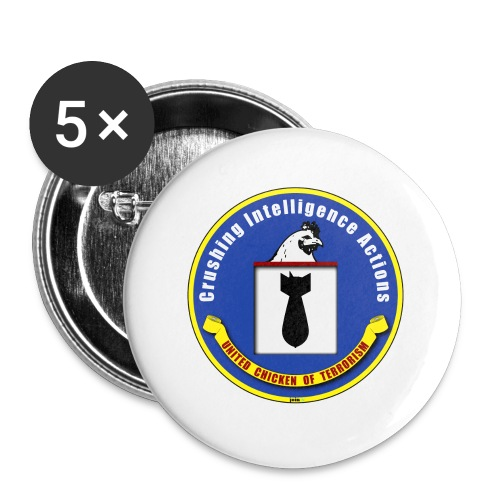 44_cia_ - Buttons klein 25 mm (5er Pack)
