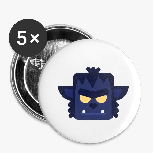 Mini Monsters - Lycan - Buttons/Badges lille, 25 mm (5-pack)