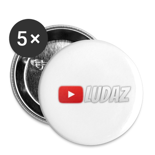 Ludaz badge - Buttons small 1''/25 mm (5-pack)
