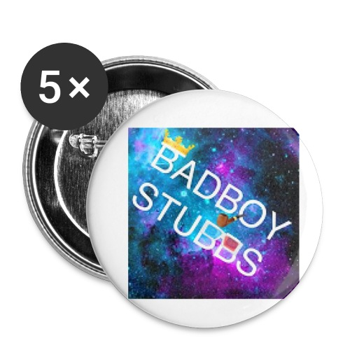 BUTTONS AND BADGES - Buttons small 1''/25 mm (5-pack)