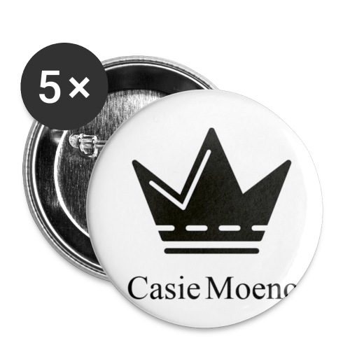 Casie Moeno button - Buttons small 1''/25 mm (5-pack)