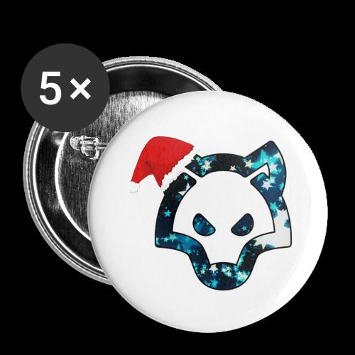 FyRox in Weihnachten - Buttons klein 25 mm