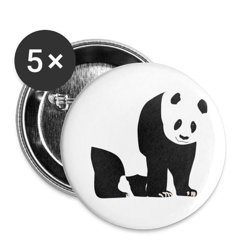 Panda - Rintamerkit pienet 25 mm (5kpl pakkauksessa)