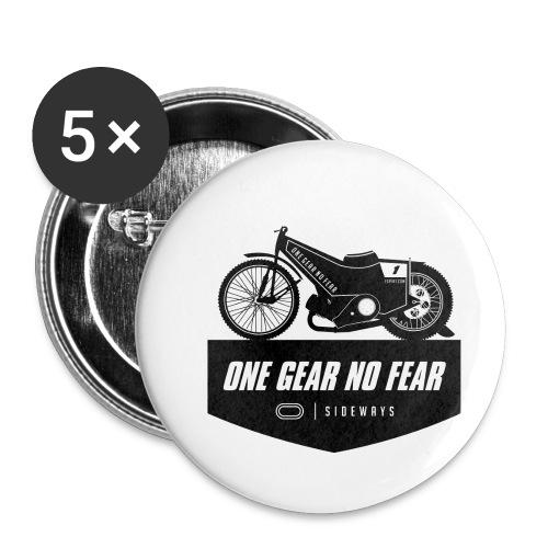 Speedway Bahnsport - Buttons klein 25 mm (5er Pack)