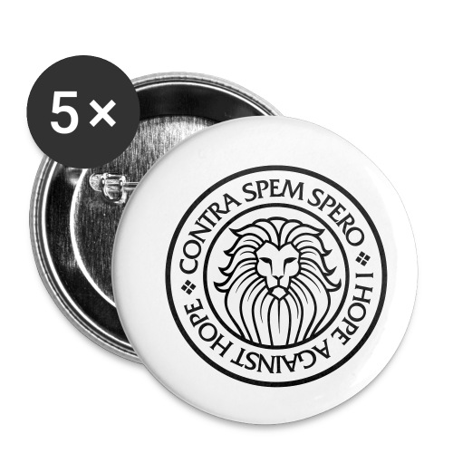 Contra Spem Spero - Buttons small 1''/25 mm (5-pack)
