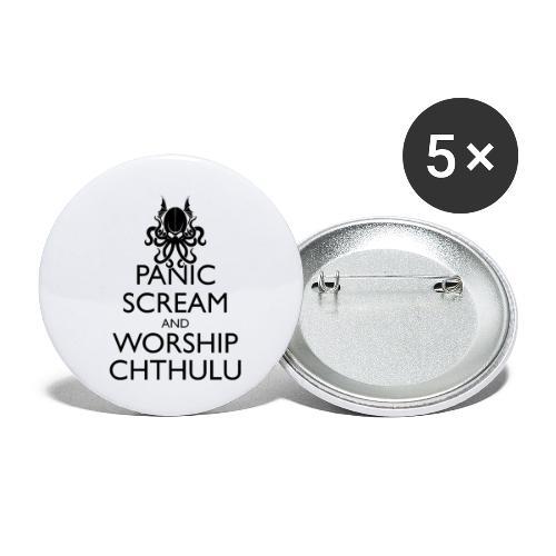 Keep Calm Cthulhu - Buttons klein 25 mm (5er Pack)