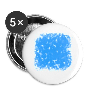 blue-white - Buttons klein 25 mm