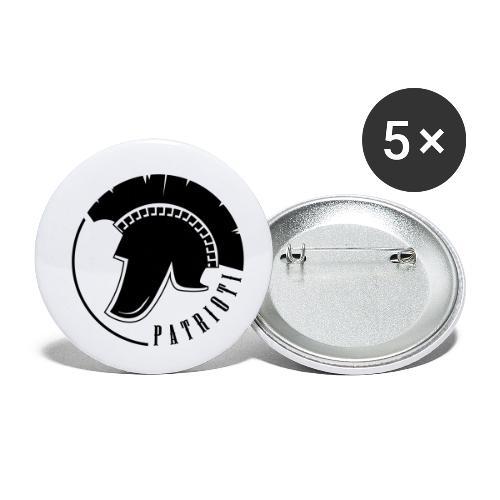 Illyrian warrior patrioti - Buttons klein 25 mm (5er Pack)