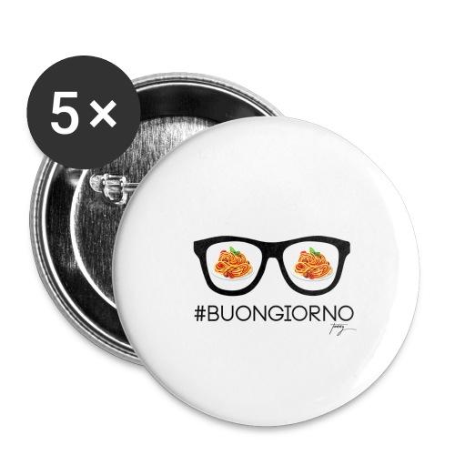 #Buongiorno - Buttons klein 25 mm
