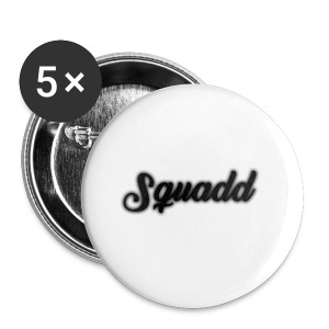 SQUADD Black - Buttons klein 25 mm