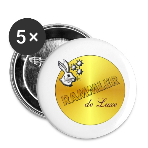 rammler - Buttons klein 25 mm (5er Pack)