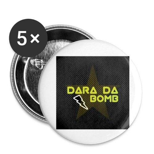 Blackout Range - Buttons small 1''/25 mm (5-pack)