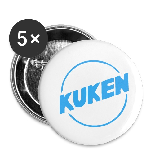 Kuken - Små knappar 25 mm (5-pack)