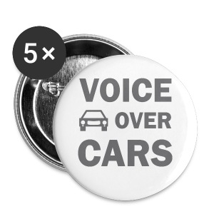 Voice over Cars - Buttons klein 25 mm