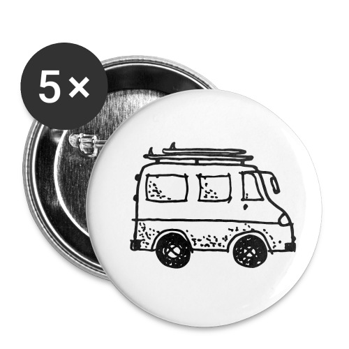 my tiny camper van - Buttons small 1''/25 mm (5-pack)