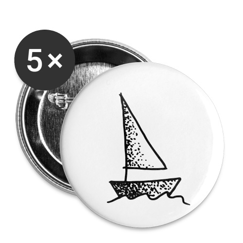 my tiny boat - Buttons small 1''/25 mm (5-pack)