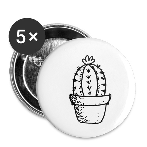 my tiny cactus - Buttons small 1''/25 mm (5-pack)