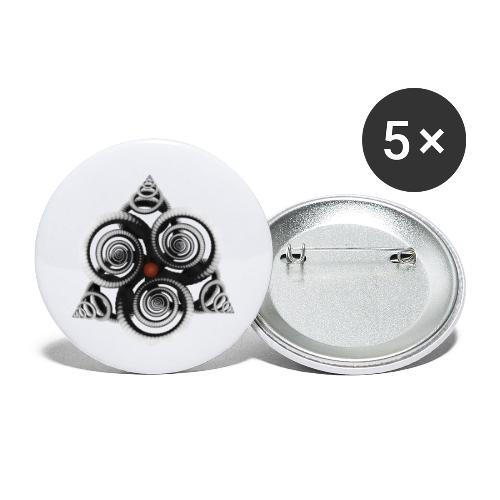 visuelalternatif - Lot de 5 petits badges (25 mm)