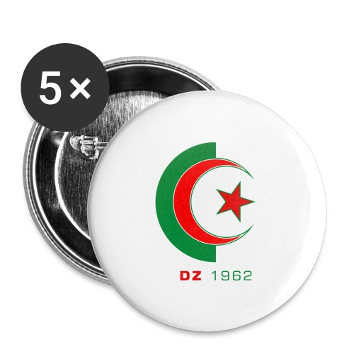 logo 3 sans fond dz1962 - Lot de 5 petits badges (25 mm)
