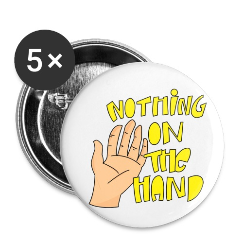 Nothing on the hand - Buttons klein 25 mm (5-pack)