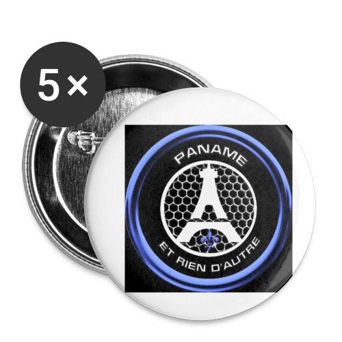 Paname et rien d'autre - Lot de 5 petits badges (25 mm)